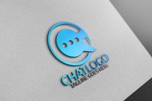 Chat Letter Logo