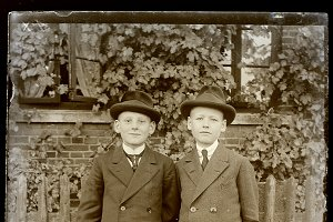 two boys in sunday suits 01, 1930