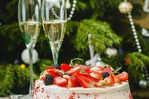 Homemade cake Red Velvet