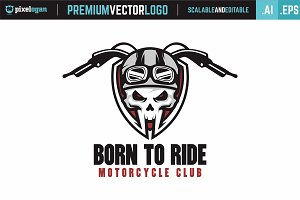 Born To Ride Logo