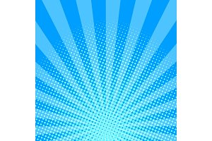 Blue halftone background vector illustration