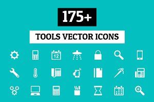 175+ Tools Vector Icons