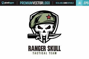 Ranger Skull Logo