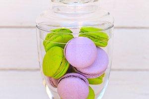 vivid macarons
