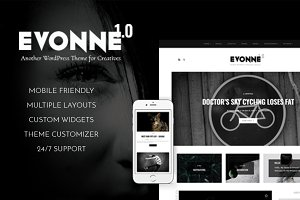 Evonne - A Black Magazine Theme