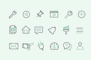 30 WordPress UI Icons
