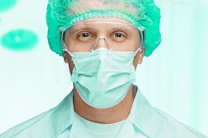 Portrait of surgeon