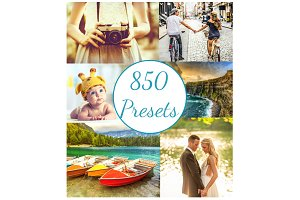 865 Lightroom Presets Pro Bundle