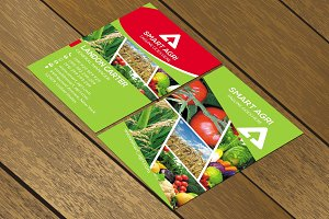 CT085 Agricultural business card