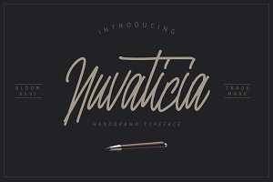 Nuvaticia Typeface