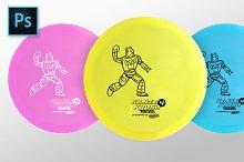 Disc Golf Mockup
