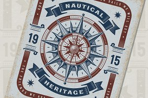 Nautical Heritage Typography