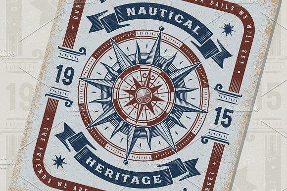 Nautical Heritage Typography