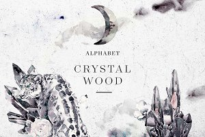 Crystal Wood Alphabet & Bundle