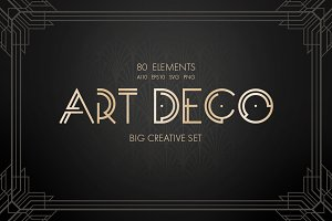 Art Deco Vector Set
