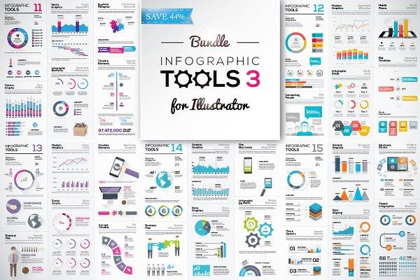 [-44%] Infographic Tools Bundle v…