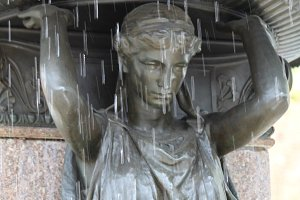 Detail, Fountain, Portland OR