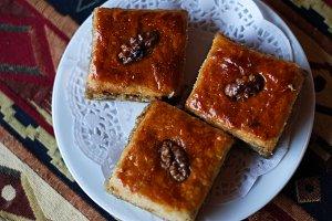 Baklava sweetness