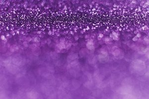 Fancy Purple Glitter