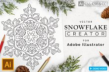 Snowflake Creator by Calvin Drews in Plug-ins