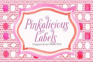 Pinkalicious Labels