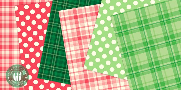 Geometric Christmas Doodle Pack in Patterns - product preview 1