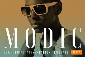 MODIC - Fashion Theme - PowerPoint