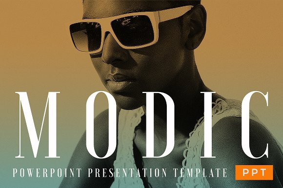 MODIC Fashion Theme PowerPoint