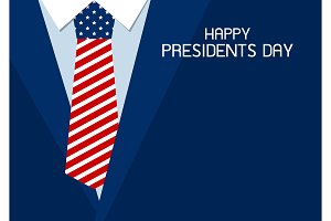 Happy presidents day design