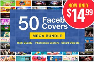 50 FB Covers Bundle