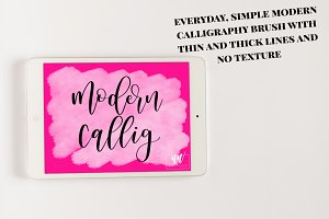 18 Procreate Lettering Brushes