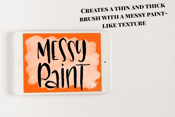 18 Procreate Lettering Brushes in Add-Ons - product preview 2