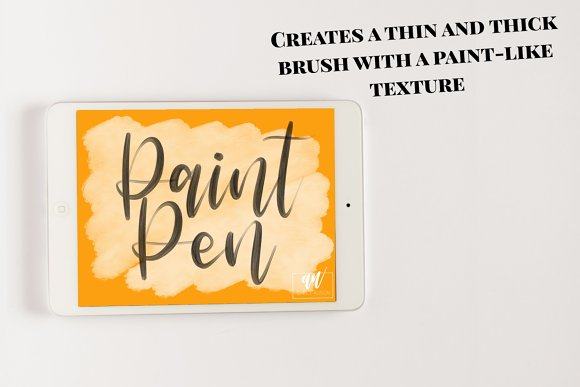 18 Procreate Lettering Brushes in Add-Ons - product preview 3