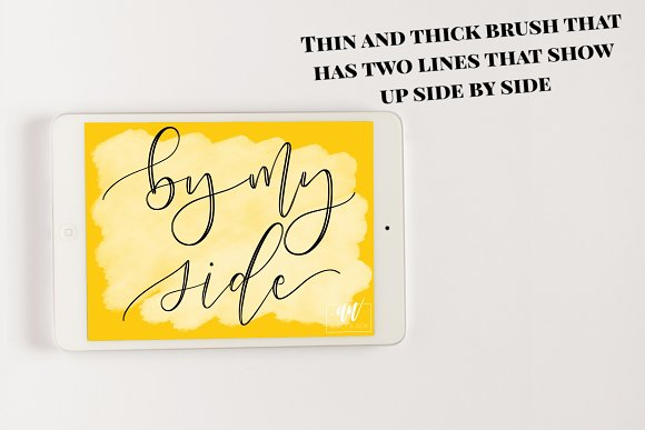 18 Procreate Lettering Brushes in Add-Ons - product preview 4