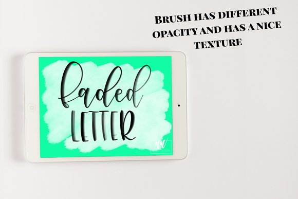 18 Procreate Lettering Brushes in Add-Ons - product preview 7