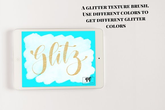 18 Procreate Lettering Brushes in Add-Ons - product preview 8