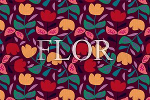 Floral Fifties Patterns