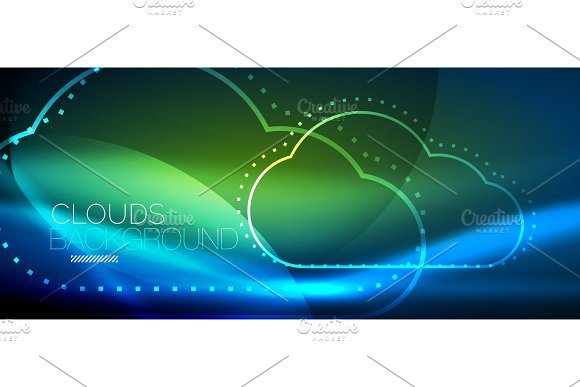 Vector cloud computing, storage concept
