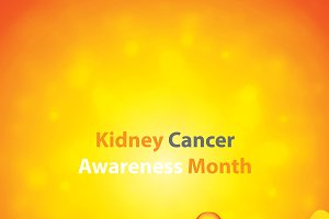 Kidney cancer symbol