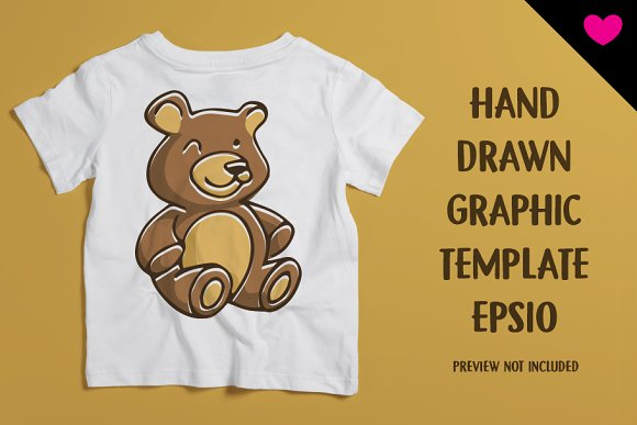 Bear Sitting in Illustrations