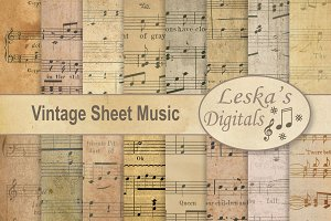 Sheet Music Digital Paper