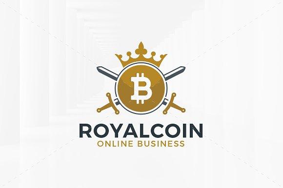 Royal Bitcoin Logo Template