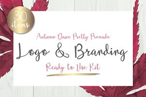 Autumn Feminine Branding & Logo Kit