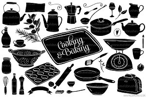 Cooking & Baking Illustrations