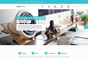 PSD Website Template - Home.Page