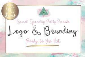 Sacred Geometry Brand & Logo Kit