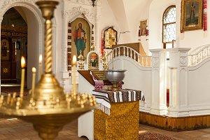 Baptism accessories for children.