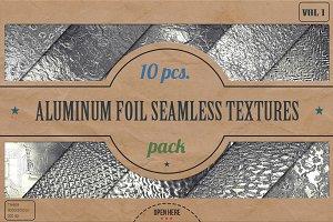 Aluminum Foil HD Textures Pack v.1