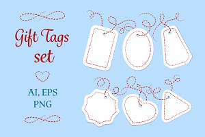 Gift tags set