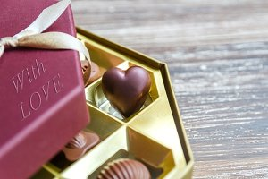 Valentines Day chocolate